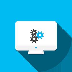 Icone de création de site web